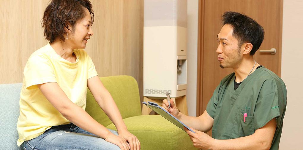患者様一人一人に向けたオーダーメイドの治療